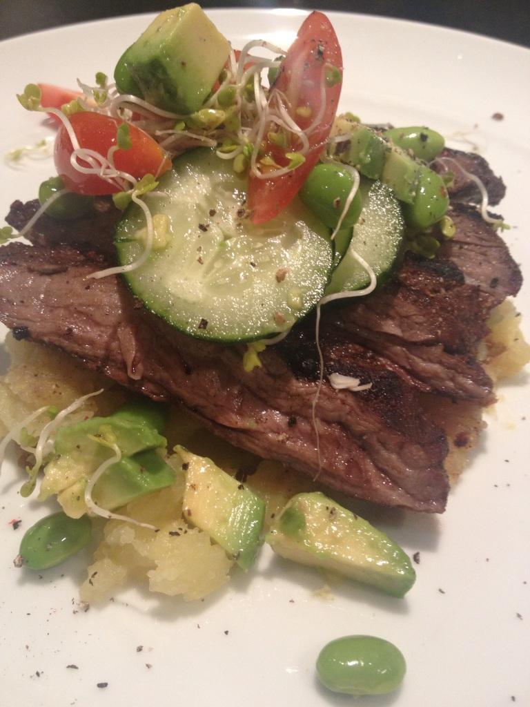 carne y veggies