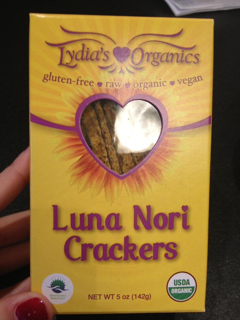 Luna Nori Crackers