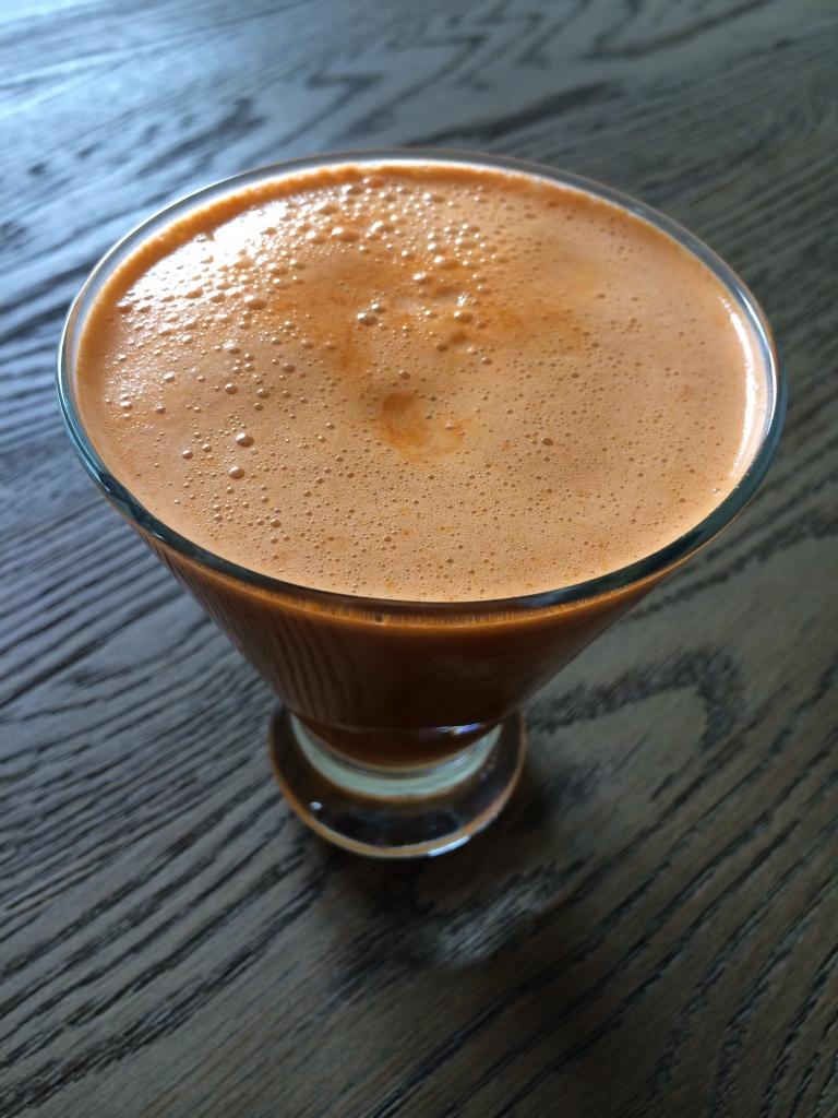 jugo de zanahoria y curcuma
